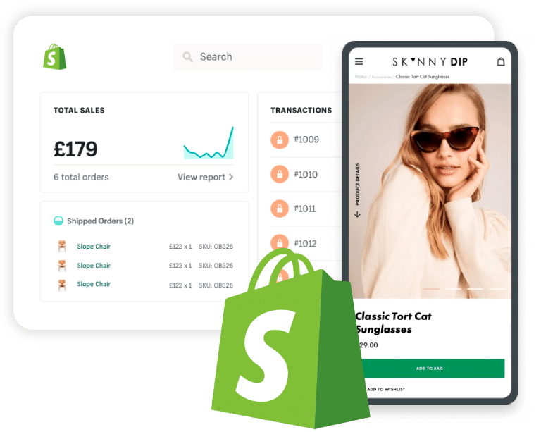 Shopify eCommerce by Cakecrumbs in Gloucester